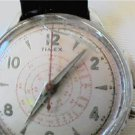 RARE ONE BUTTON TIMEX WINDUP CHRONOGRAPH WATCH 4UFIX
