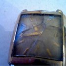VINTAGE 23Z WAFFLE LONGINES SQUARE WATCH RUNS 4U2FIX