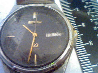 VINTAGE SEIKO 6923 DAY DATE QUARTZ STEEL WATCH 4U2FIX