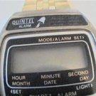 OLD QUINTEL LCD ALARM CHRONO WATCH 4FIX