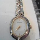 UNUSUAL SHAPED CRYSTAL PULSAR LADIES QUARTZ WATCH RUNS