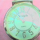 BIG NUMBER LE WATCH LADIES QUARTZ WATCH RUNS