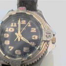 VINTAGE 1994 LADIES BLACK DIAL GUESS QUARTZ WATCH RUNS