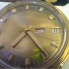 VINTAGE 1976 TIMEX DAY DATE WINDUP WATCH RUNS 4U2FIX
