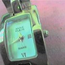 ANNE KLEIN SQUARE BRACELET QUARTZ WATCH