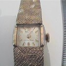 VINTAGE SOLID BAND BELAIR 17 JEWEL LADIES WATCH RUNS