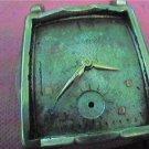 VINTAGE 1954 SQUARE 17J BULOVA WATCH 4U2FIX