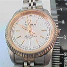 GOOD LADIES GRUEN PRECISION QUARTZ WATCH AND BAND RUNS