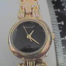 UNUSUAL BLACK DIAL LUCORAL LADIES JAPAN QUARTZ WATCH