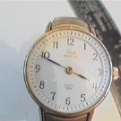 WHITE DIAL  LADIES TIMEX INDIGLO QUARTZ WATCH RUNS