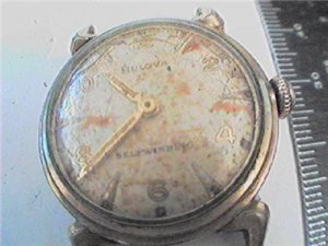 VINTAGE UNIQUE 1953 BULOVA SELF WINDING WATCH 4U2FIX