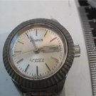 vintage ladies day date benrus auto watch RUNS 4u2fix