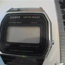 OLD CASIO ALARM CHRONO LCD QUARTZ WATER RESIST WATCH