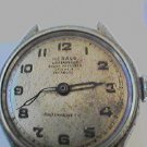 VINTAGE HERALD 17 JEWEL INCABLOC SWISS WATCH RUNS 4UFIX
