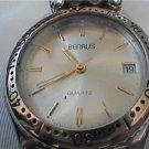 GOOD SIMPLE BENRUS QUARTZ DATE WATCH RUNS