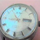 UNUSUAL le fran 17J DAY DATE AUTO WATCH 4U2FIX