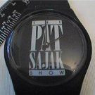 UNUSUAL BLACK PAT SAJAK SHOW QUARTZ WATCH RUNS