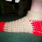 Unisex Sock Slippers in Red