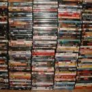 Lot of 300 DVDS , Mixed Action,horror,romance,comedy, etc