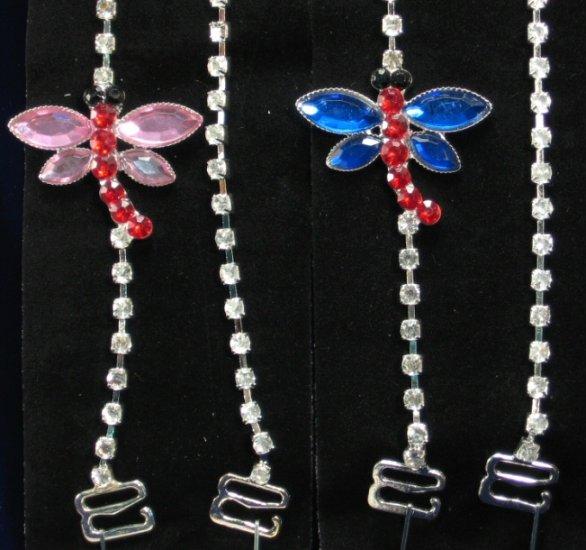 Dragonfly Rhinestone Straps - BS2083
