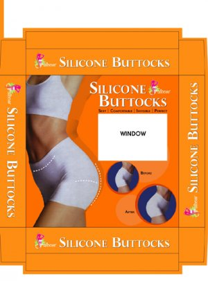 Silicone Buttock Enhancer - BS-7010