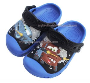 Kids Boys Girls Cars Mater & Finn McMissile Blue Sandals Shoes US Size 6c7 8c9 10c11 12c13