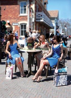 2012 Hot Sale Strapless Blue Chiffon Ruffled Tea-length Bridesmiad Dress Evening Dress B16-A