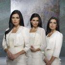 3/4 Sleeves White Ivory  Chiffon Satin Beaded Wedding Jackets Bridal Bolero Jacket Shawl JK27