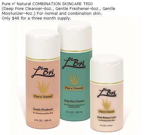 Aloe Skincare Set for Combination Skin
