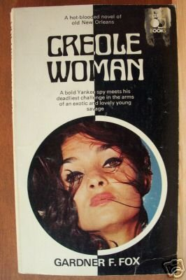 CREOLE WOMAN by Gardner F. Fox, Paperback 1960's, Scarce