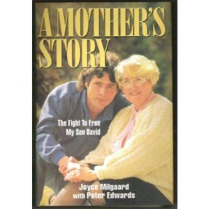A MOTHER'S STORY by Joyce Milgaard, HC 1st Ed. SIGNED, Story of David Milgaard