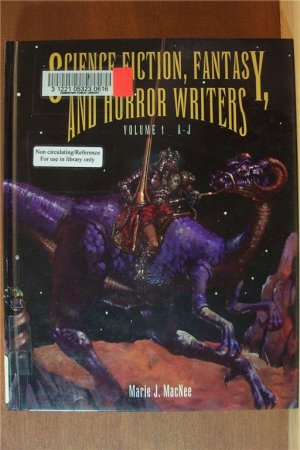 2 Volumes, SCIENCE FICTION, FANTASY & HORROR WRITERS - Hardcover 1995