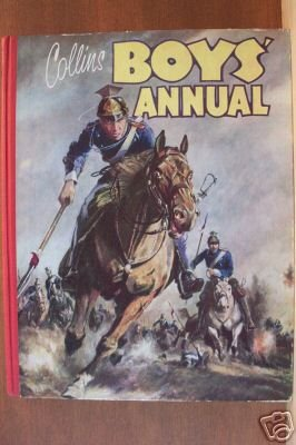 COLLINS BOYS' ANNUAL, British Infantry Stories, Hardcover 1950's