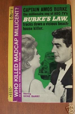 BURKE'S LAW: Who Killed Madcap Millicent? Paperback 1st 1964
