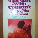 HE GIRL WHO COULDN'T SAY NO William Hughes, Paperback 1969, Scarce title