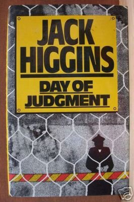 DAY OF JUDGMENT by Jack Higgins, Hardcover 1st UK Ed. 1978