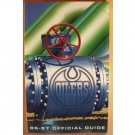 Edmonton Oilers Official Guide 1996-97, Softcover 1996