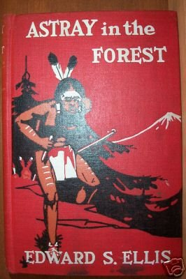 ASTRAY IN THE FOREST by Edward S.. Ellis, Hardcover, Early 1900's