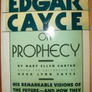 EDGAR CAYCE ON PROPHECY- M.E. Carter, Hardcover 1968