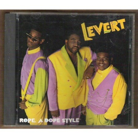 LEVERT: Rope a Dope Style, Full Length CD 1990