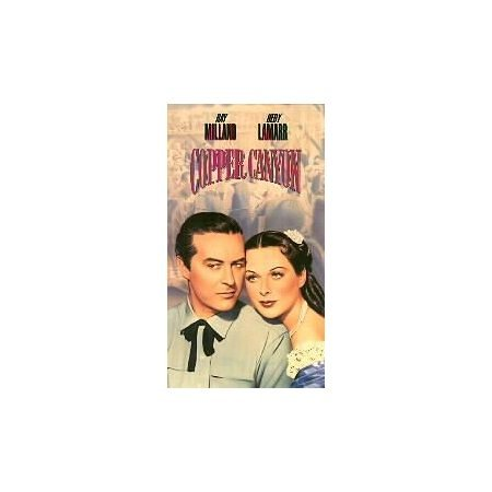 COPPER CANYON with Ray Milland & Hedy Lamarr, VHS 1950