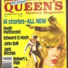 ELLERY QUEEN'S Mystery Magazine, October 1977