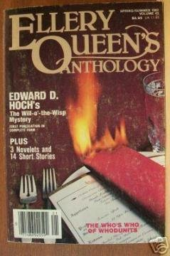 ELLERY QUEEN'S ANTHOLOGY, Spring/Summer 1982, #43