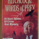 ALFRED HITCHCOCK'S Words of Prey, 29 Short Stories, Anthology, Summer 1986