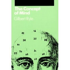 THE CONCEPT OF MIND by Gilbert Rye, Softcover
