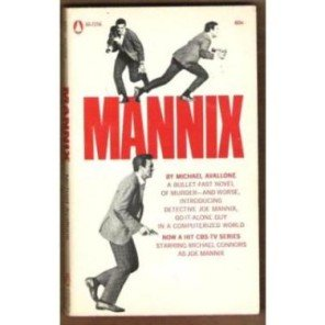 MANNIX #1 by Michael Avallone, Paperback 1968