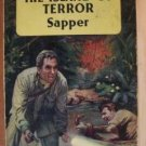 THE ISLAND OF TERROR by Sapper, PB 1957
