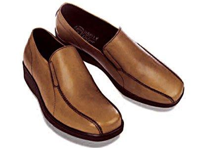 GRAVITY DEFYER Giustino Slip-on Shoe - Saddle Foot Size: 9.5 TB 321 S 095