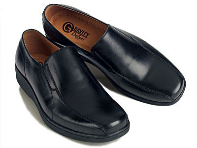 GRAVITY DEFYER Giustino Slip-on Shoe - Black Foot Size: 9.5 TB 321 L 095