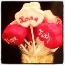 1 dozen assorted Valentine's Cake Pops